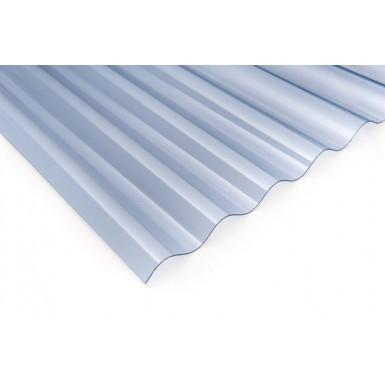 "Corolite Iron - 3"" Corrugated Polycarbonate Sheet"