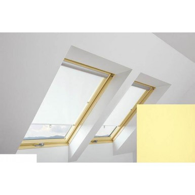 Fakro - ARS II 206 - Standard Manual Roller Blind - Lemon