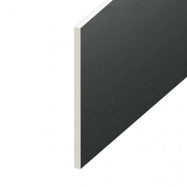 Soffit UPVC Board - Flat 300mm x 9mm - Anthracite Grey (5m)