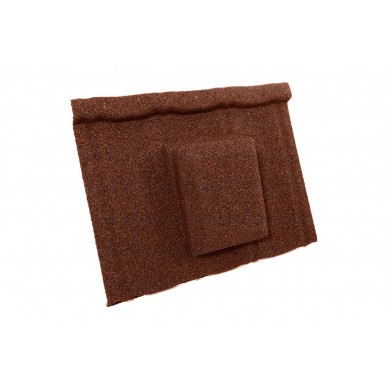 Britmet - Ultratile - Air Vent Tile - Rustic Terracotta