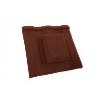 Britmet - Profile 49 - Air Vent Tile - Rustic Terracotta