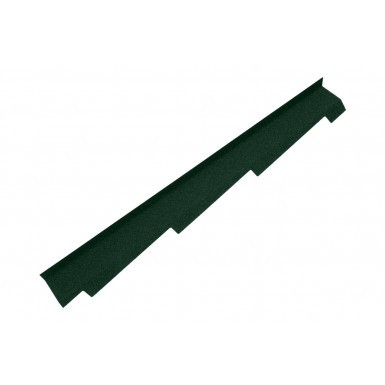 Britmet - Right Hand Side Wall Flashing - Tartan Green (1250mm)