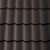Sandtoft Double Pantile - Concrete Tile - Smooth Brown