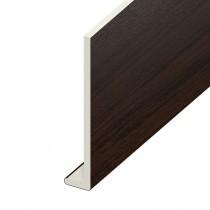 Fascia UPVC Capping Board - Plain 150mm x 9mm - Rosewood (5m)