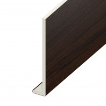 Fascia UPVC Capping Board - Plain 200mm x 9mm - Rosewood (5m)