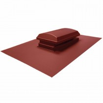 Tapco Synthetic Slate - Cowl Vent - Brick Red