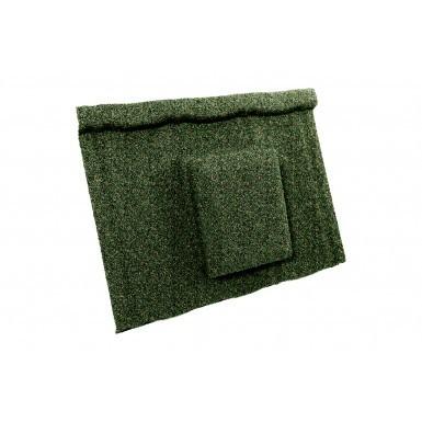 Britmet - Ultratile - Air Vent Tile - Moss Green