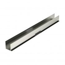 Corotherm Clickfit - U-Profile Aluminium - 16mm x 3m