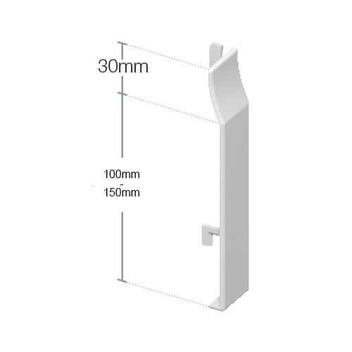 upvc shiplap cladding butt joint rosewood. Black Bedroom Furniture Sets. Home Design Ideas