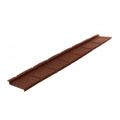 Britmet - Plaintile Plus - Lightweight Metal Roof Tile - Rustic Terracotta (0.9mm)