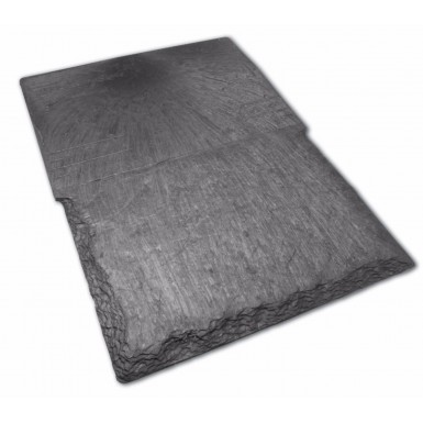 IKO Slate - Recycled Synthetic Roof Slate in Slate Grey (Pack of 27 - 1.5m2 Cover)