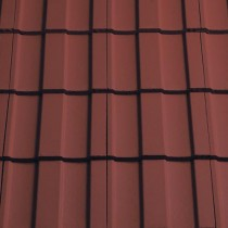 Sandtoft Lindum - Concrete Tile - Smooth Terracotta Red