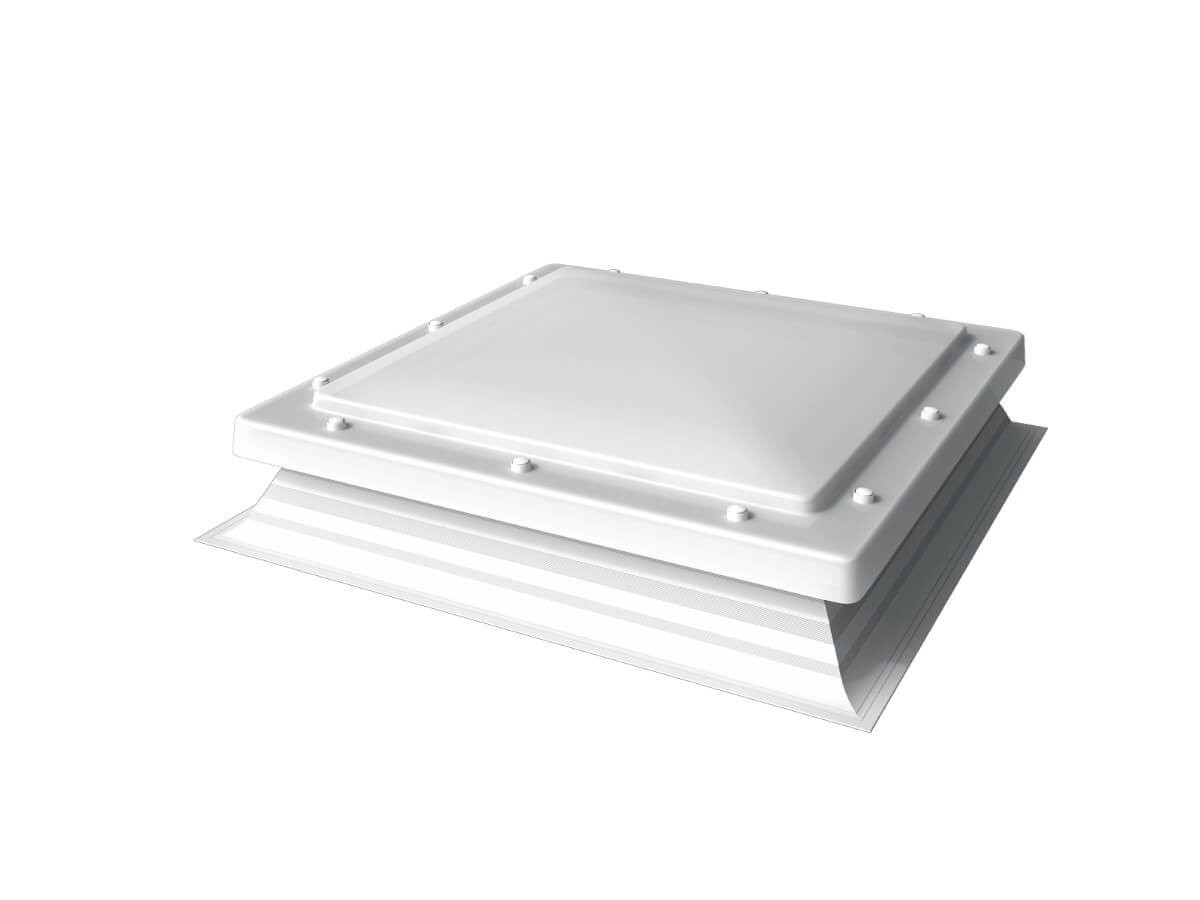 Mardome Hi-Lights - PVC Flat Roof Light - Opal
