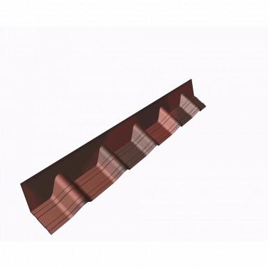 Onduvilla - Apron Flashing - Shaded Red (1020mm)