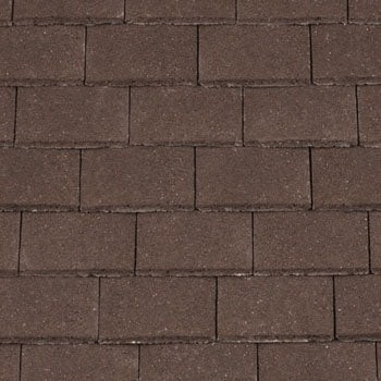 Redland Plain Tile Concrete Tile Granular Brown 6151