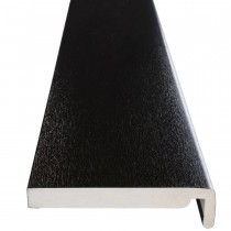 Fascia UPVC Board - Plain - Black Ash (5m)