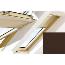 Fakro - ARF II 257 - Manual Blackout Blind - Chocolate