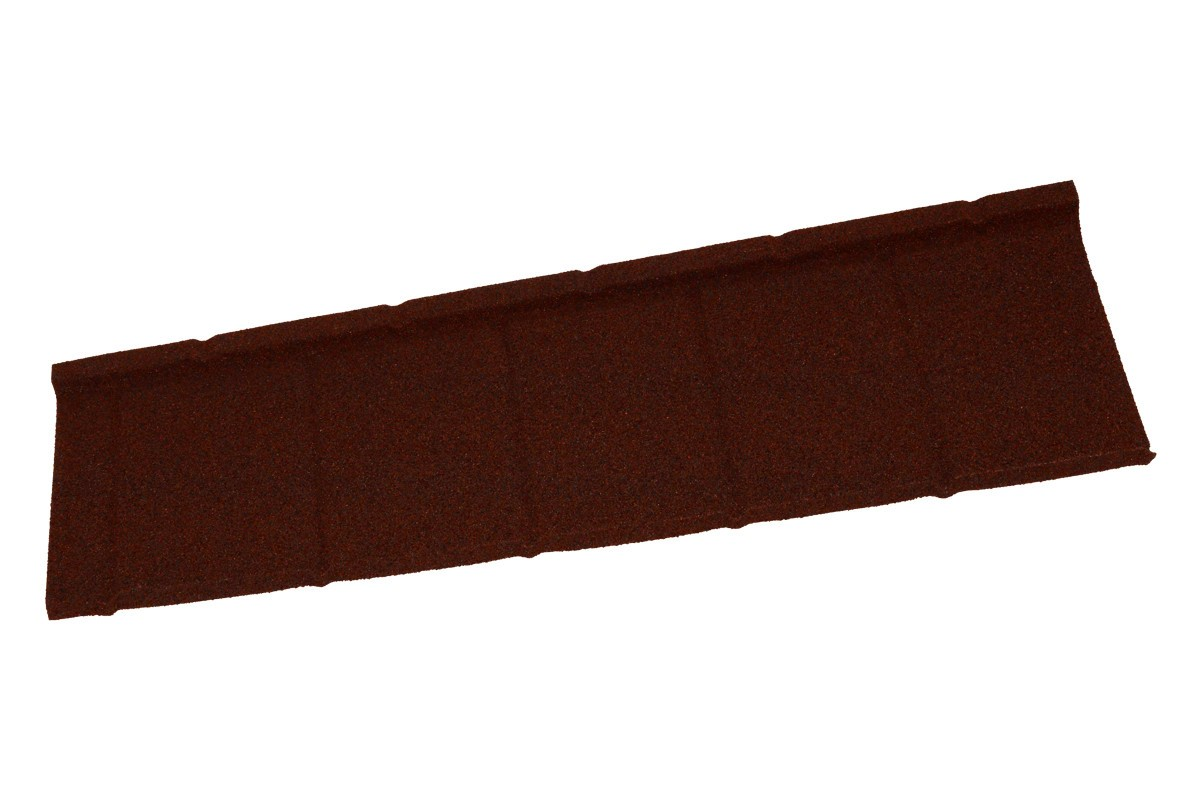 Britmet - Slate 2000 - Lightweight Metal Roof Tile - Rustic Terracotta (0.45mm)