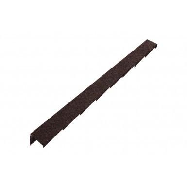 Britmet - Plaintile - Right Hand Barge - Rustic Brown (1250mm)