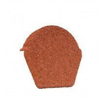 Lightweight Tiles - Granulated Ridge End Cap - Red