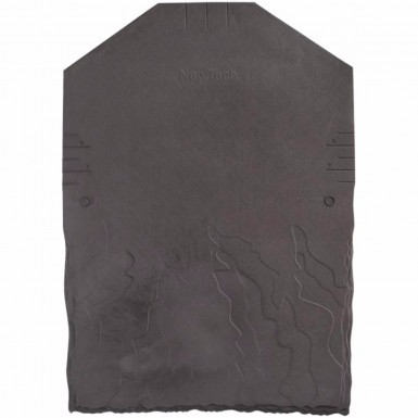 Eco Slate - Plastic Roof Tiles - Synthetic Slate - Grey (Pack of 34 - 2m2 Cover)