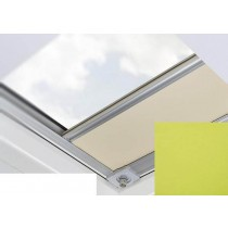 Fakro - ARF/D II 263 - Flat Roof Manual Blackout Blind - Lime Green