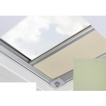 Fakro - ARF/D II 059 - Flat Roof Manual Blackout Blind - Mint Green