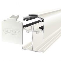 Alukap-SS - Low Profile Gable Bar - White