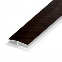 Soffit Board Panel Joint - 40mm - Rosewood (5m)