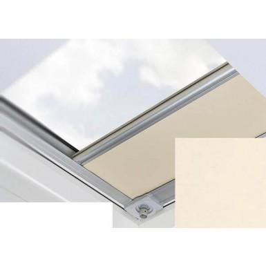 Fakro - ARF/D III N53 - Flat Roof Manual Blackout Blind - Cream