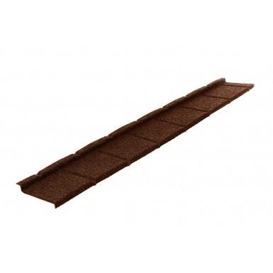Britmet - Plaintile - Lightweight Metal Roof Tile - Rustic Brown (0.45mm)