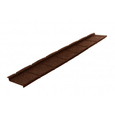 Britmet - Plaintile Plus - Lightweight Metal Roof Tile - Rustic Brown (0.9mm)