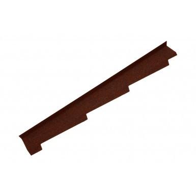 Britmet - Left Hand Side Wall Flashing - Rustic Terracotta (1250mm)