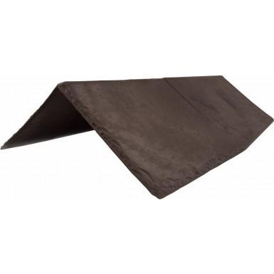 Tapco Synthetic Slate - Ridge & Hip - Chestnut Brown