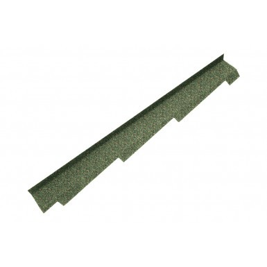 Britmet - Right Hand Side Wall Flashing - Moss Green (1250mm)