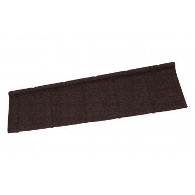 Britmet - Slate 2000 - Lightweight Metal Roof Tile - Rustic Brown (0.45mm)