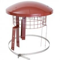 Eathernware Rain Top Chimney Birdguard - 150mm to 200mm - Terracotta