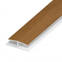 Soffit Board Panel Joint - 40mm - Irish Oak (5m)