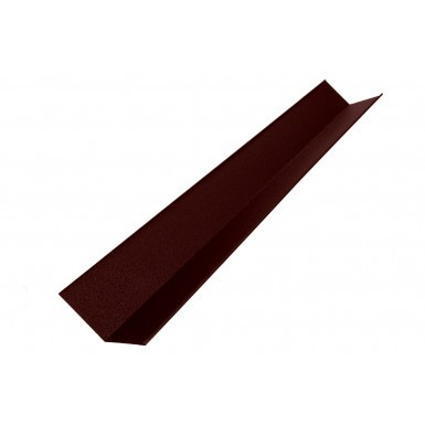 Britmet - Pantile 2000 - Valley Flashing - Antique Red (2000mm)