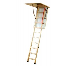 Youngman Eco S Timber Folding Loft Ladder
