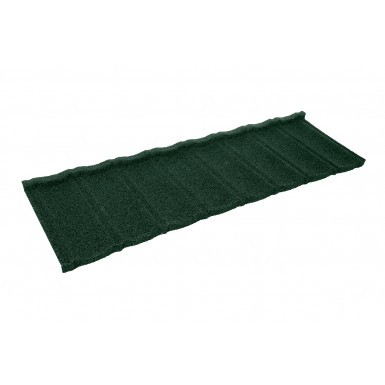 Britmet - Ultratile - Lightweight Metal Roof Tile - Tartan Green (0.45mm)