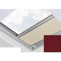 Fakro - ARF/D II 056 - Flat Roof Manual Blackout Blind - Walnut Brown