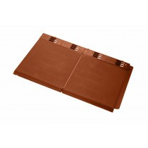 Envirotile - Double Plastic Tile - Terracotta (Pack of 10)