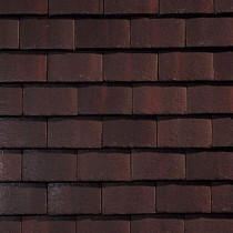 Sandtoft Standard Plain Tile - Concrete Tile - Smooth Dark Heather