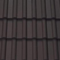 Sandtoft Double Roman - Concrete Tile - Smooth Brown