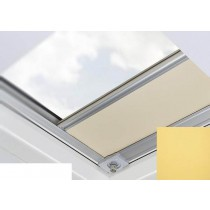 Fakro - ARF/D II 054 - Flat Roof Manual Blackout Blind - Dandelion