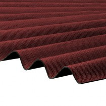 Corrapol-BT - Corrugated Bitumen Roof Sheet - Red (2000 x 930mm)