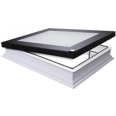 Fakro Flat Roof Window - Flat and Electric Opening  - Passive Quadruple Glazing [DEF-D U8]