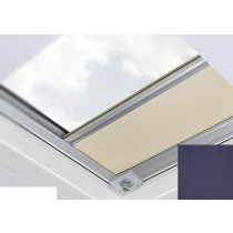 Fakro - ARF/D I 051 Z-Wave - Flat Roof Electrically Operated Blackout Blind - Midnight Blue