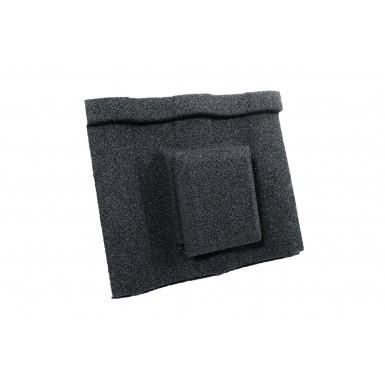 Britmet - Villatile - Air Vent Tile - Titanium Grey